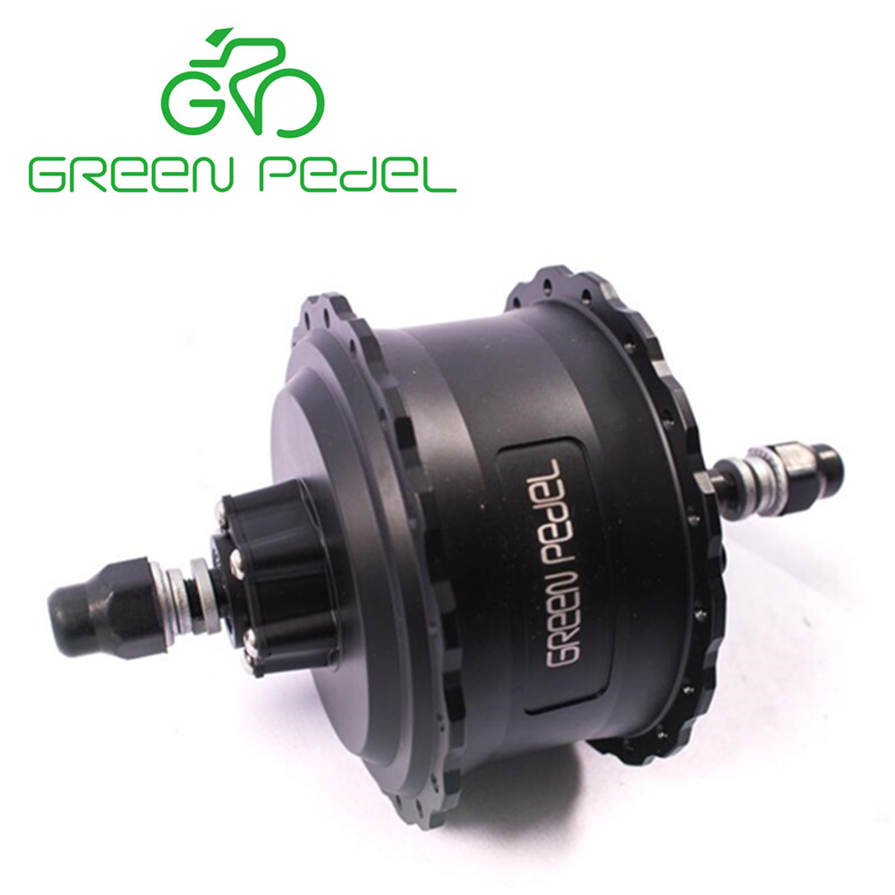 Greenpedel 36v 48V electric bike kit 500 watt brushless geared hub motor for fat tire snow bike