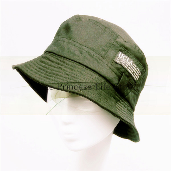 f58738ace49 National pattern olive green army green style High Quality fabric hunting  Bucket Hat