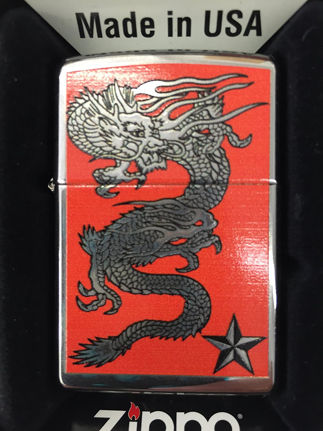 Cheap Zippo Dragon Find Deals On Line At Alibabacom Get Quotations W Star High Polished Chrome