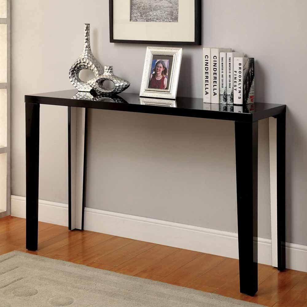 Black High Gloss Console Table Deals