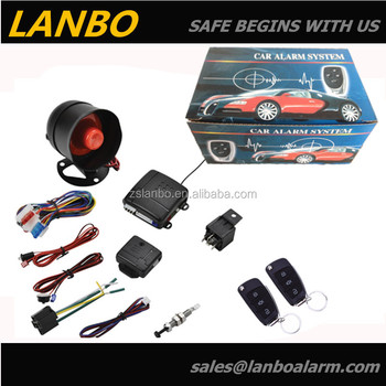 Remote car alarm system ISO 9001 and_350x350 remote car alarm system,iso 9001 and ce passed buy remote car
