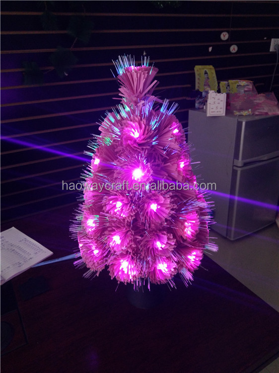Fiber Optic Mini Led Christmas Tree Small Trees Articial