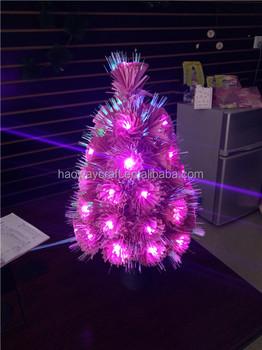 fiber optic mini led christmas tree small christmas trees - Small Purple Christmas Tree