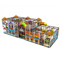 Pirate Ship Indoor Play Area Equipment Commercial Indoor Playgrounds Fun for Kids