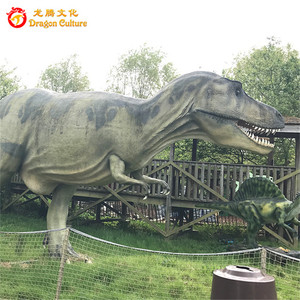 Indoor outdoor dinosaur theme park jurassic equipment big animatronic dinosaur