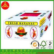Fruit packing box Custom banana corrugated box