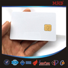 MDC133 White blank PVC/PET card with siemens 4428 chip contact IC card/contact smart card