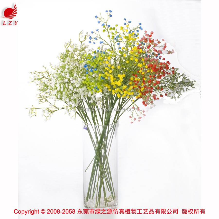 Factory wholesale artificial babys-breath plastic cheap artificial <strong>flowers</strong>