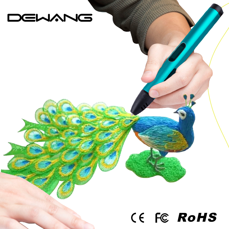 3D Colorful UV Light Pen Printing Cool Ink Color-changing Best Selling 3D Pen Printing X4 V4