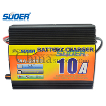 Suoer lead acid auto battery 10A Universal 24V Smart Fast Battery Charger with CE&ROHS
