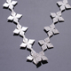 New design wholesale shining star shape garment decoration rhinestone embellishments