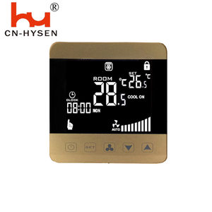 LCD Digital Air Conditioner Thermostat for Fan Coil Units
