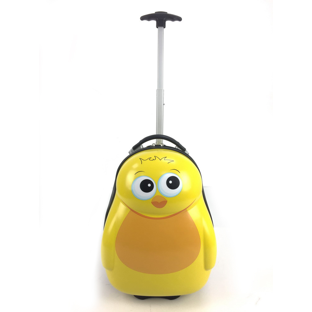 Chick Kids egg shaped cartoon trolley bag kids school luggage