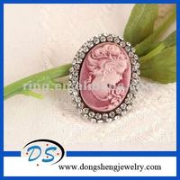 pink alloy hijab pins vintage brooches for wedding brooch