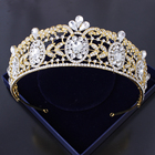 New coming welcomed women hair accessories popular gift items wedding tiara crown