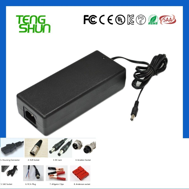 top quality universal ac dc 25.2v 29.4v 42v 54.6v 2a hoverboard lithium battery charger 42v 2a