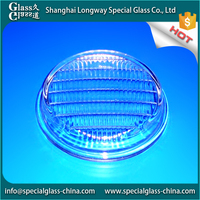Exquisite Good Quality Low Price glass fitting molded stained lamp