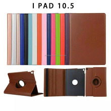 Hot sell 360 degree Rotation stand leather book case for Ipad pro 10.5 inch
