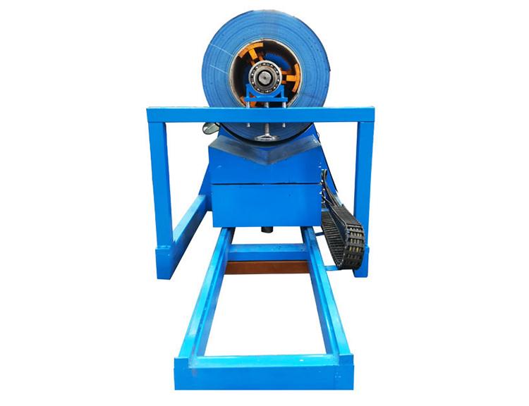 5 tons hydraulic delocier for steel coil machine sale in stock