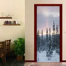 Мозаичная картина дверь стикер s стикер для холодильника Настенная ПВХ самоклеющиеся двери холодильника обои кухонный Декор Мебель искусс...(Китай)