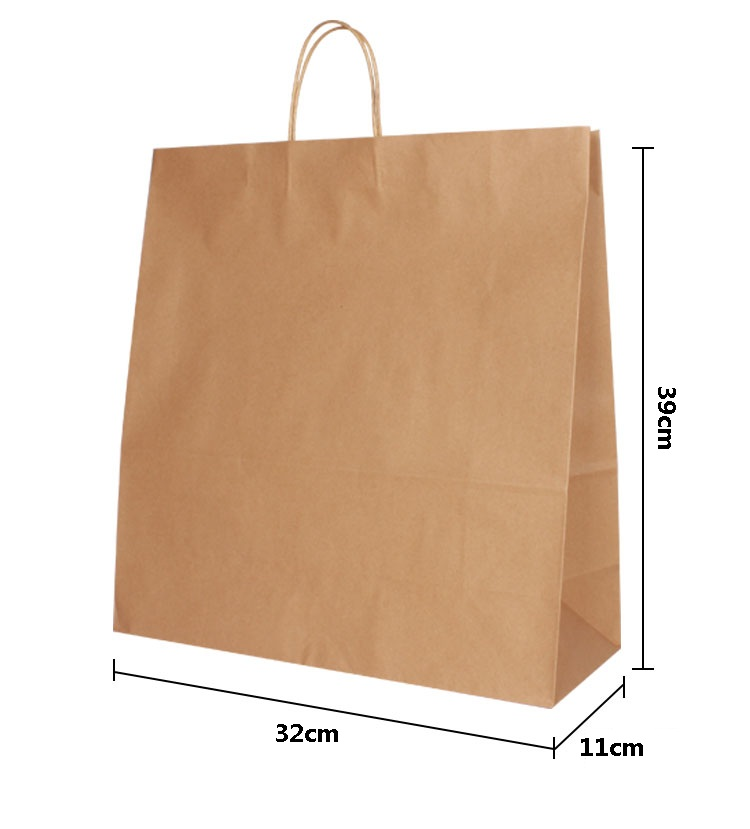 Orange Paper Bags All About Bag 2017