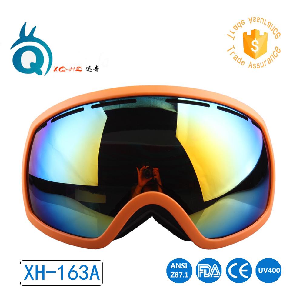 ec7c8cd197db High quality anti fog reasonable price snowboard eyewear custom custom ski  goggle straps snow goggles