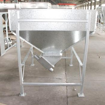 Goldenest 100 Kg to 1 5 Ton Capacity Feed Hopper for Poultry Farming House  Auger Convey Feed Bin, View poultry feeding hopper, Goldenest Product