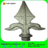 For fence gate Application and forged iron speardhead Ornamental Cast Iron Finials