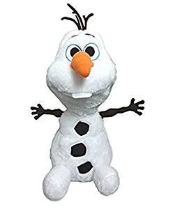 "Disney Frozen Large Fluffy/Soft Plush Olaf . Limited Edition 22""H (55 cm) . Japan Import."