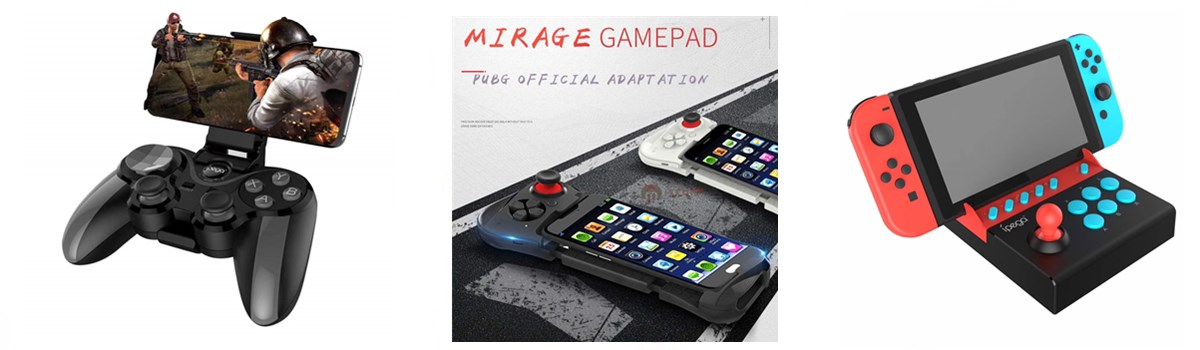 12f36b38d34 S5 plus Smart Phone Game Controller Smart Wireless Joystick Bluetooth  Android IOS Gamepad