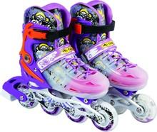 Aluminium Bracket Adjustable ABEC-7 Bearing Flat Roces Inline Skate,shoes with lights for kids For Kids