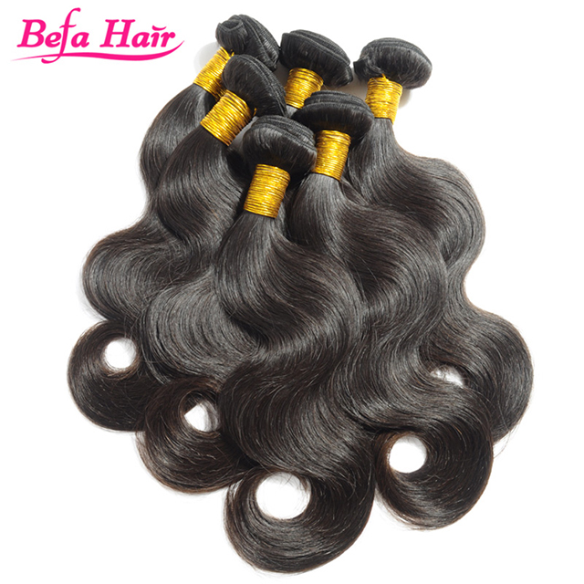 New Arrival !!! 100% Human Hair No Shedding No Tangle Jet Black Brazilian Body Wave