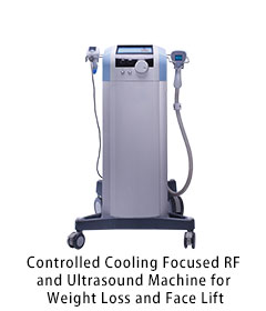 Portable Focused RF and Ultrasound Machine for Cellulitis Treatment and Wrinkle Removal