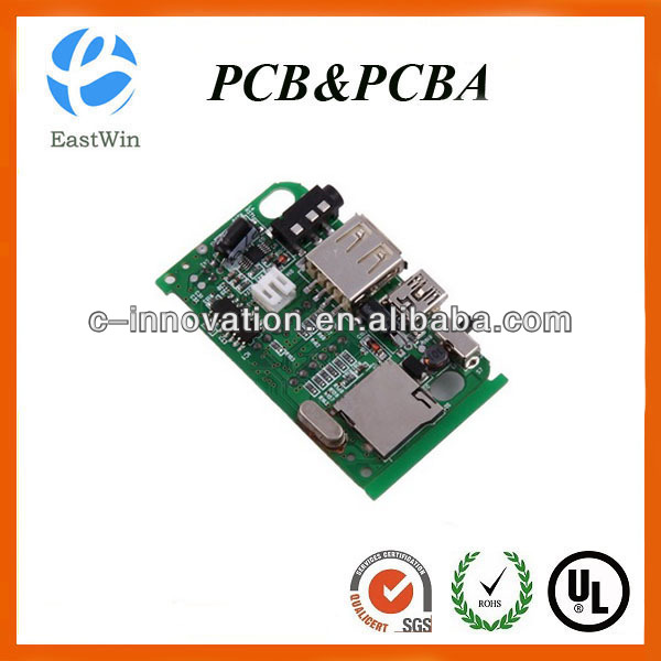 Mp3 player PCBA/mp3 player circuit board/mp3 usb board