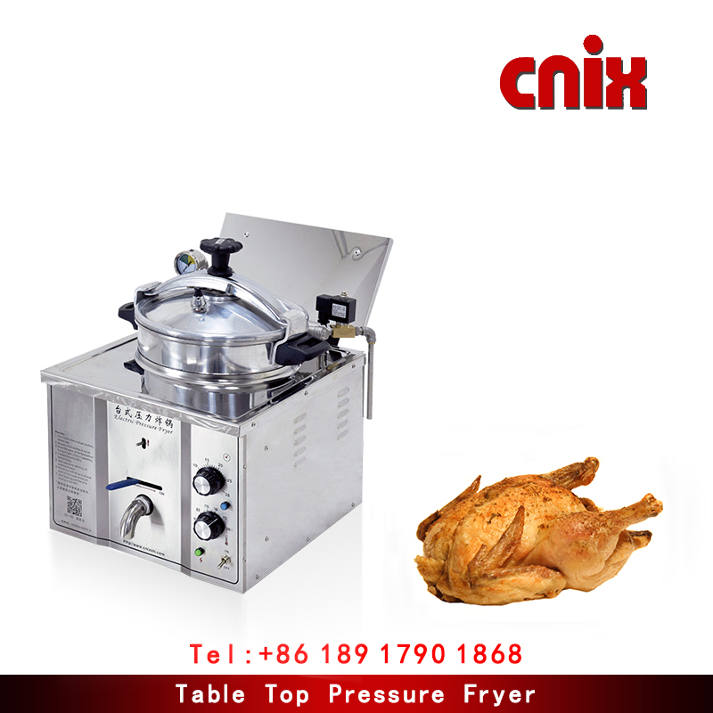 Table Top Broaster Pressure Fryer/ Pressure fryer mdxz-16/chicken and chips fryer