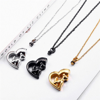 Memorial Urn Ashes Keepsake Jewelry Necklace Cremation Jewellery Cremation Dog Pendant Necklace For Pet