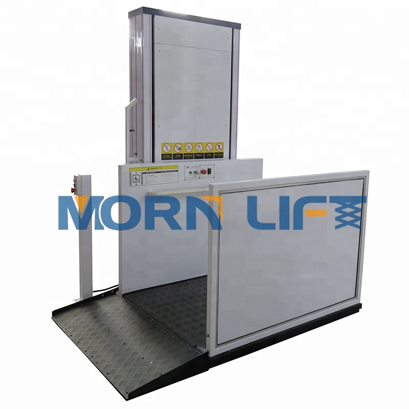 Elektrikli dikey ev tipi asansör kiti yaşlı kapalı veya açık