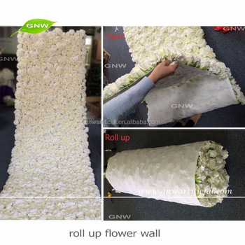 Gnw technology co ltd artificial blossom tree artificial trees gnw flw1606012 cl new arrival wholesale artificial flower wall cloth with rose and hydrangea for wedding decoration junglespirit Choice Image