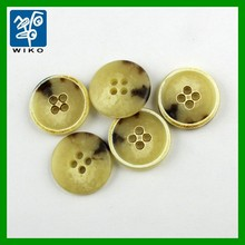 round big resin urea buttons for garments