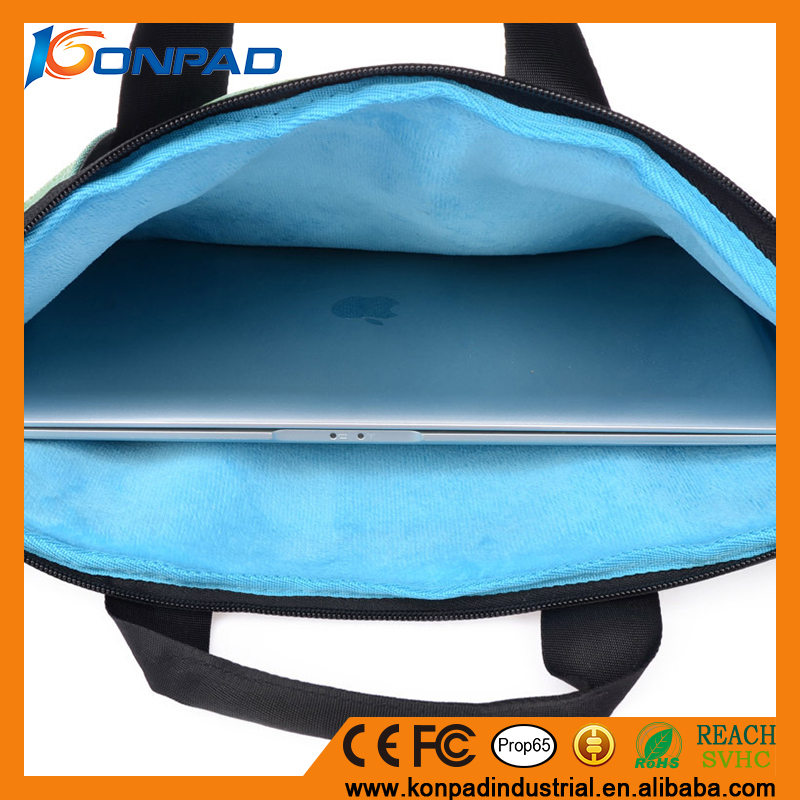 Fashion Nylon Oxford waterproof Laptop case / Laptop Sleeve/Computer bag for wholesale