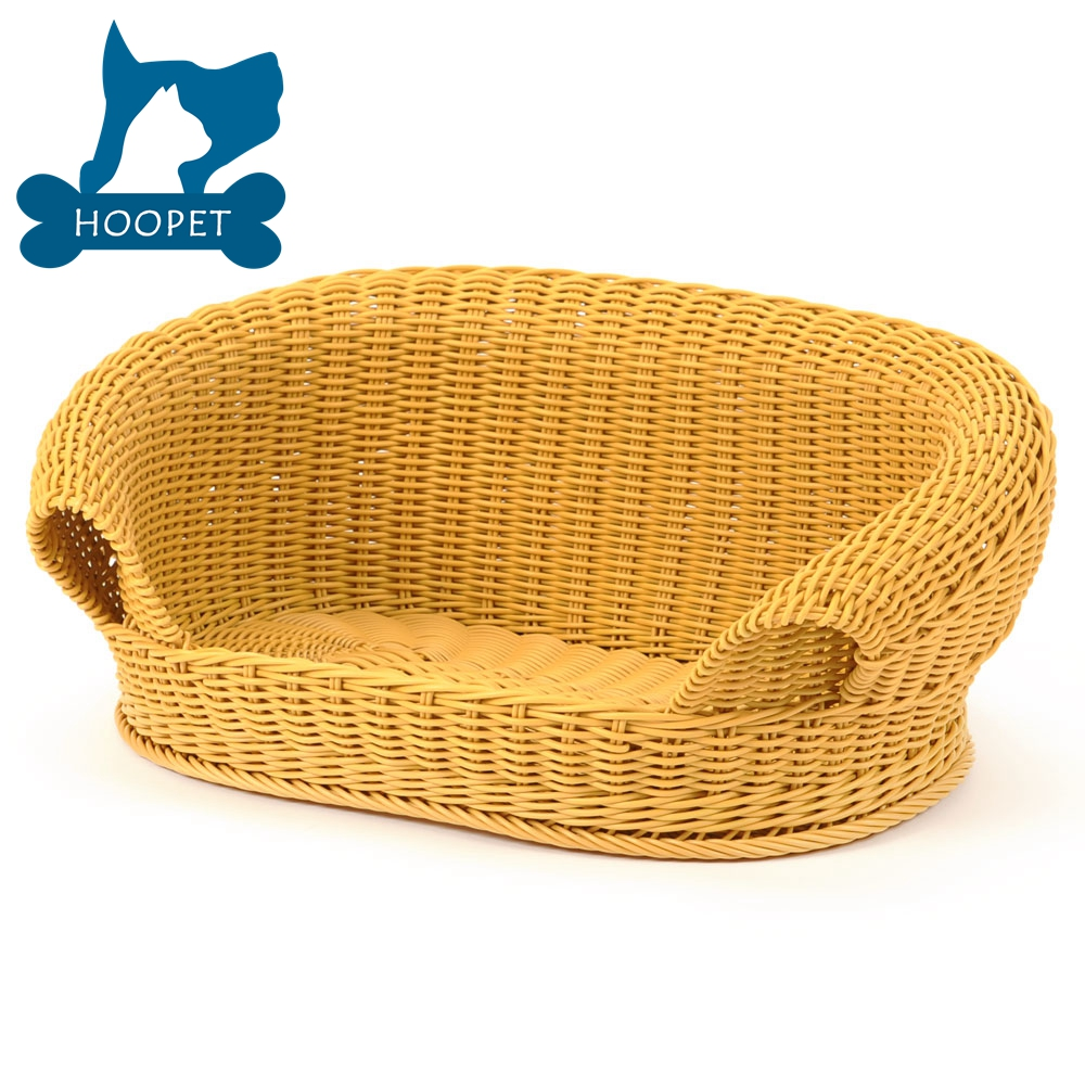 Best Selling Factory Direct Durable Sofa Style rattan dog bed
