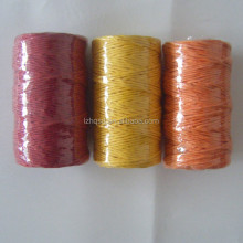 new colorful twisted paper twine and rope