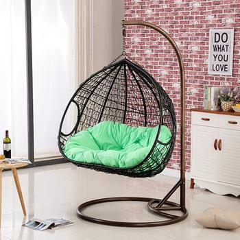 Innen Wohnzimmer Outdoor Doppel Ei Rattan Wicker Hängenden Schaukel Stuhl -  Buy Im Freien Rattan Hänge Egg Chair,Ei Schaukel,Hängesessel Product on ...