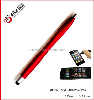 2 in 1 touch screen stylus pen ball for promotion