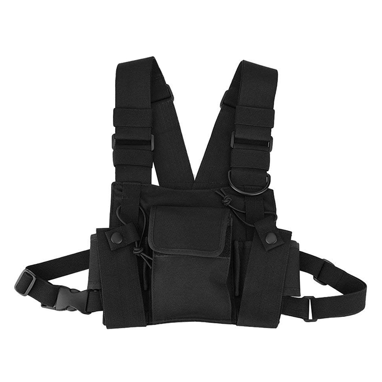 Recon Chest Bag Multi-functional Tool Chest Rig Pouch Military Tactical Vest