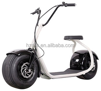 High Speed Aluminum Frame Big Wheel Electric Foot Scooter - Buy Foot ...