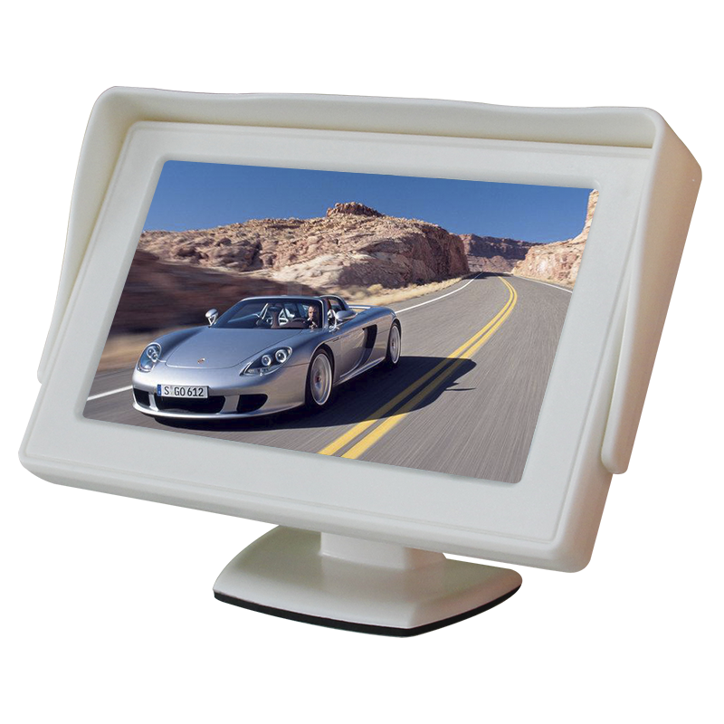 4.3 inch auto achteruitrijcamera mini led monitor met camera