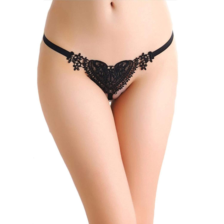3b4b0a17fe12 Women's lingerie WEUIE Sexy Lace Lady Heart Briefs Lingerie Knickers G- string