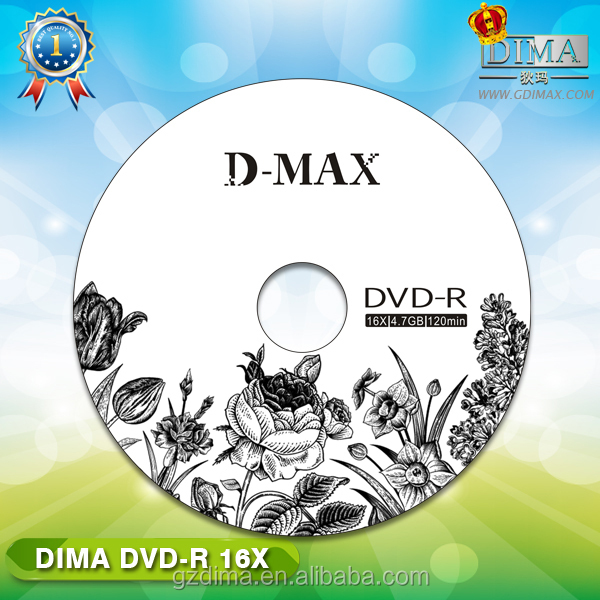 Guangzhou D-max DVD movie replicatie