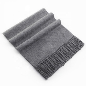 High Quality Classic Winter Style Fashion 100% Cashmere Scarf Men
